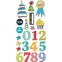Fancy Pants Designs - Cake Smash Collection - Embellishments - Chipboard