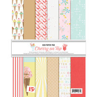 Fancy Pants Designs - A Cherry On Top Collection - 6 x 8 Paper Pad