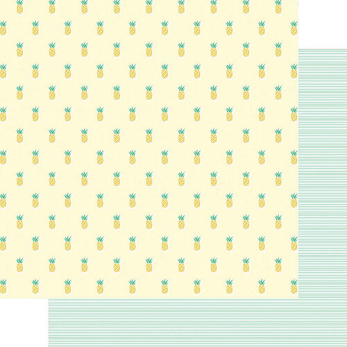 Fancy Pants Designs - Vitamin Sea Collection - 12 x 12 Double Sided Paper - Summer Sweetness