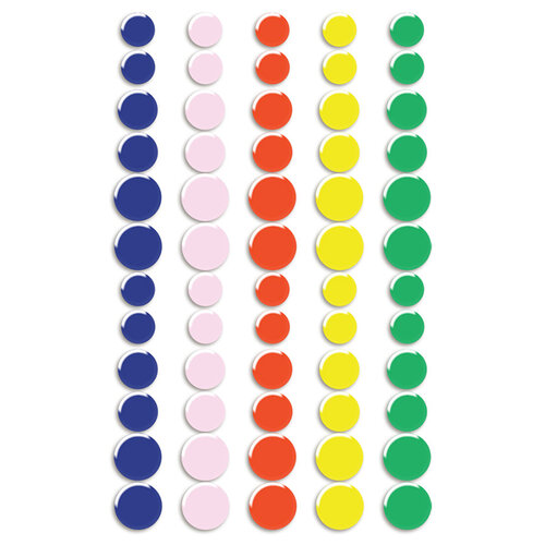Fancy Pants Designs - Vitamin Sea Collection - Stickers - Puffy Dots