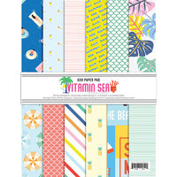 Fancy Pants Designs - Vitamin Sea Collection - 6 x 8 Paper Pad