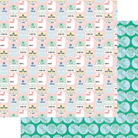 Fancy Pants Designs - Plane Fun Collection - 12 x 12 Double Sided Paper - Destinations