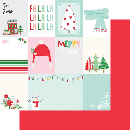 Fancy Pants Designs - Wishmas Collection - 12 x 12 Double Sided Paper - Christmas Cut-Apart
