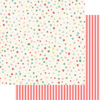Fancy Pants Designs - Wishmas Collection - 12 x 12 Double Sided Paper - Christmas Stars