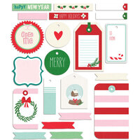 Fancy Pants Designs - Wishmas Collection - Embellishments - Tags