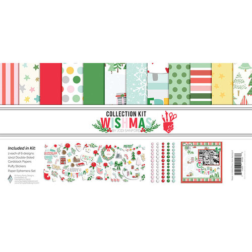 Fancy Pants Designs - Wishmas Collection - Collection Kit