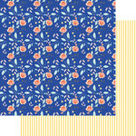 Fancy Pants Designs - Peachy Keen Collection - 12 x 12 Double Sided Paper - Peach Blossom