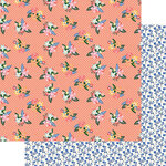 Fancy Pants Designs - Peachy Keen Collection - 12 x 12 Double Sided Paper - Sweet Days