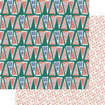 Fancy Pants Designs - Peachy Keen Collection - 12 x 12 Double Sided Paper - Peachy Keen