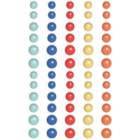 Fancy Pants Designs - Peachy Keen Collection - Enamel Dots