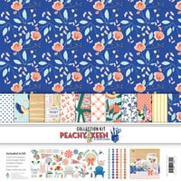 Fancy Pants Designs - Peachy Keen Collection - 12 x 12 Collection Kit