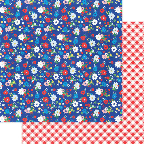 Fancy Pants Designs - Hometown Summer Collection - 12 x 12 Double Sided Paper - Fresh Picked