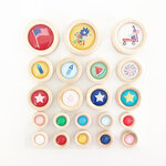 Fancy Pants Designs - Hometown Summer Collection - Wood Buttons