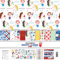 Fancy Pants Designs - Hometown Summer Collection - 12 x 12 Collection Kit