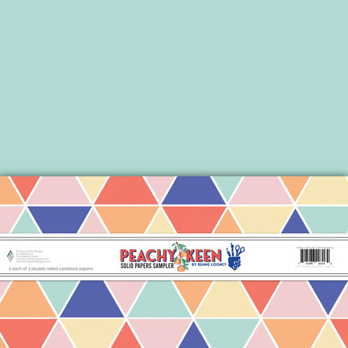 Fancy Pants Designs - Peachy Keen Collection - 12 x 12 Paper Pack - Solids