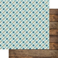 Fancy Pants Designs - Lake Life Collection - 12 x 12 Double Sided Paper - Picnic by the Lake