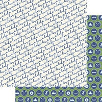 Fancy Pants Designs - Lake Life Collection - 12 x 12 Double Sided Paper - Live. Love. Lake.