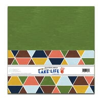 Fancy Pants Designs - Lake Life Collection - 12 x 12 Paper Pack - Solids