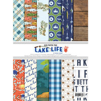 Fancy Pants Designs - Lake Life Collection - 6 x 8 Paper Pad
