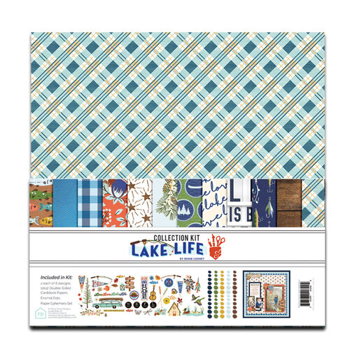 Fancy Pants Designs - Lake Life Collection - 12 x 12 Collection Kit