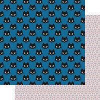 Fancy Pants Designs - A Little Scary Collection - 12 x 12 Double Sided Paper - Good Luck