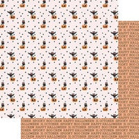Fancy Pants Designs - A Little Scary Collection - 12 x 12 Double Sided Paper - Whooo Are You