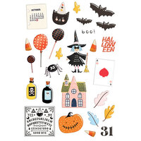 Fancy Pants Designs - A Little Scary Collection - Puffy Stickers