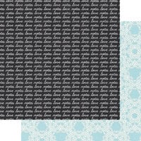 Fancy Pants Designs - My Type Collection - 12 x 12 Double Sided Paper - Love Notes