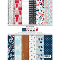 Fancy Pants Designs - My Type Collection - 6 x 8 Paper Pad