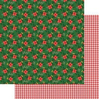 Fancy Pants Designs - Cozy Christmas Collection - 12 x 12 Double Sided Paper - Under The Mistletoe