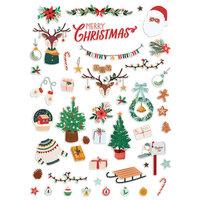 Fancy Pants Designs - Cozy Christmas Collection - Ephemera