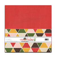 Fancy Pants Designs - Cozy Christmas Collection - 12 x 12 Paper Pack - Solids