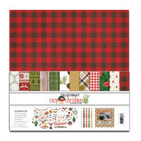 Fancy Pants Designs - Cozy Christmas Collection - 12 x 12 Collection Kit