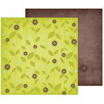 Fancy Pants Designs - Delight Collection - 12 x 12 Double Sided Paper - Garden