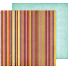 Fancy Pants Designs - Delight Collection - 12 x 12 Double Sided Paper - Spice
