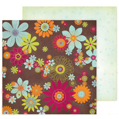 Fancy Pants Designs - Delight Collection - 12 x 12 Double Sided Paper - Potpourri, CLEARANCE