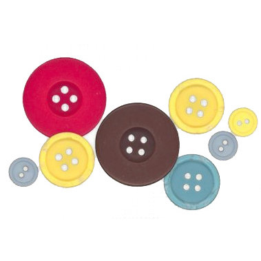Fancy Pants Designs - Delight Collection - Buttons, CLEARANCE