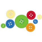 Fancy Pants Designs - Summer Soiree Collection - Buttons, CLEARANCE
