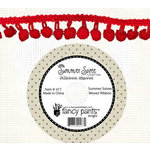 Fancy Pants Designs - Summer Soiree Collection - Ball Trim Ribbon - 25 Yards - Red, CLEARANCE