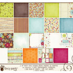 Fancy Pants Designs - Delight Collection - 12 x 12 Paper Kit
