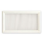 Fancy Pants Designs - On Display Collection - Embellish Me Frames - 18 x 9 Frame - White