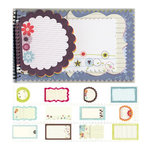 Fancy Pants Designs - Delight Collection - 5 x 8 Notebook Journal, BRAND NEW