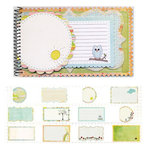 Fancy Pants Designs - On A Whimsy Collection - 5 x 8 Notebook Journal, CLEARANCE