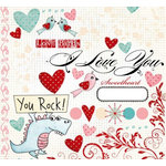Fancy Pants Designs - Splendid Collection - Rub Ons, CLEARANCE