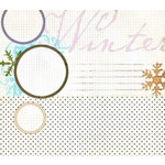 Fancy Pants Designs - Arctic Chill Collection - 12 x 12 Transparency - Chill Out
