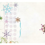 Fancy Pants Designs - Arctic Chill Collection - 12 x 12 Transparency - Eclectic Winter, CLEARANCE