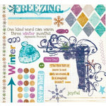 Fancy Pants Designs - Arctic Chill Collection - Rub Ons