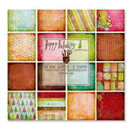 Fancy Pants Designs - Happy Holidays Collection - 8 x 8 Paper Pad