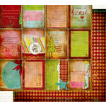 Fancy Pants Designs - Happy Holidays Collection - 12 x 12 Double Sided Paper - Cards, CLEARANCE