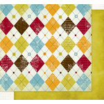 Fancy Pants Designs - All Fall Collection - 12 x 12 Double Sided Paper - Recess